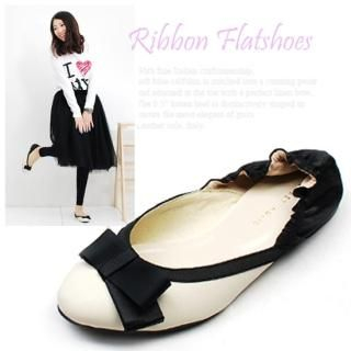 Buy Miz shoes Bow Front Flats 1022107340