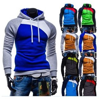 Colour Block Hoodie 1045442371