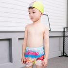 Kids Set: Printed Swim Shorts + Swim Cap + Goggles 1596