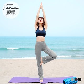 Plain Elastic Yoga Pants 1059756453