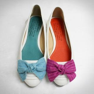 Buy Jean Stone Bow-Accent Flats 1022510203