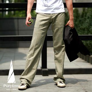 Buy Purplow Straight Leg Pants 1004889682