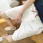 Linen Cotton Shorts 1596