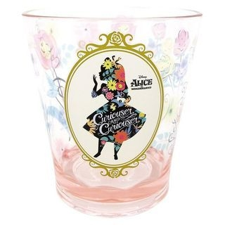 Alice in Wonderland Plastic Clear Cup (Silhouette) 1060022456
