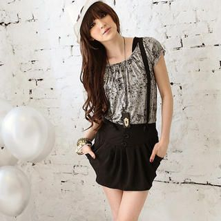 Buy OrangeBear Pleated Jumper Skirt 1023034264