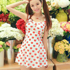 Apple Print Swimdress 1596