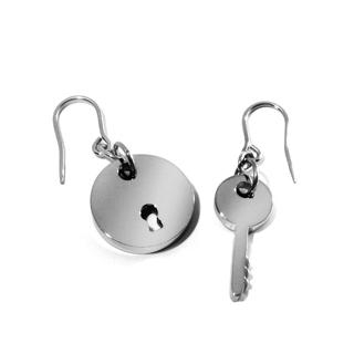 Key to Live In Peace Earrings - United states