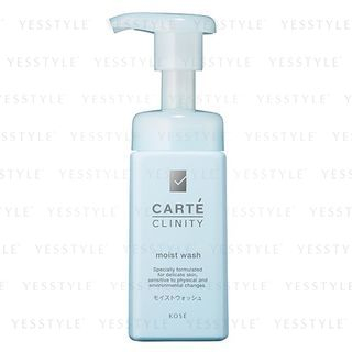 Kose - Carte Clinity Moist Wash 165ml 1066297588