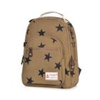 Star Print Canvas Backpack 1596