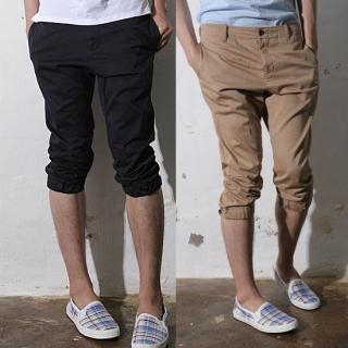 Mens Crop Pants