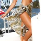 Leopard Print Cover-Up 1596