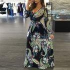Printed Maxi Dress 1596