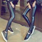 Faux Leather Leggings 1596