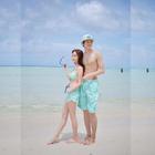 Couple Matching Patterned Bikini / Swim Shorts от YesStyle.com INT