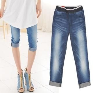 Buy Miss Hong Cropped Jeans 1022526838