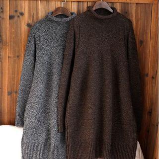 Long-Sleeve Sweater Dress 1056025876