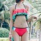 Watermelon Ruffle Bikini 1596