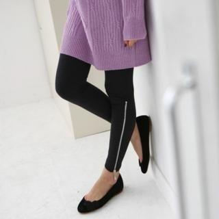 Picture of LORIKEET Zipper Hem Leggings 1021968695 (LORIKEET Pants, South Korea Pants)
