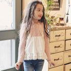 Kids Two-Tone Long-Sleeve T-Shirt 1596