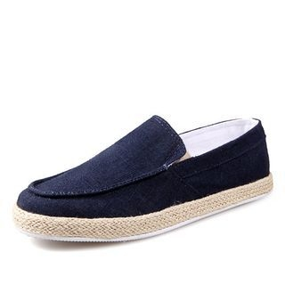 Espadrille Canvas Slip Ons
