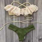 Ruffle Trim Bikini 1596