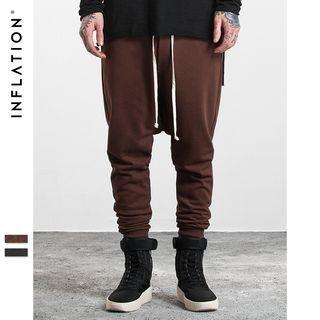 Low-Crotch Harem Pants