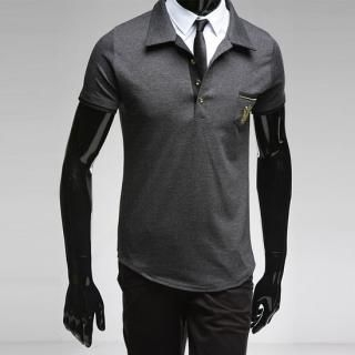 Buy Style YOURS M Embroidered Short-Sleeve Polo T-Shirt 1022492972
