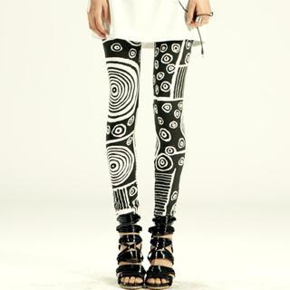 Buy tictak Printed Leggings 1023065061