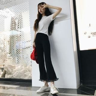 Boot-Cut Pants 1060986034