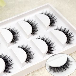 False Eyelashes 5 Pairs 1060255176