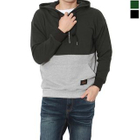 Hooded Color-Block Sweatshirt 1596