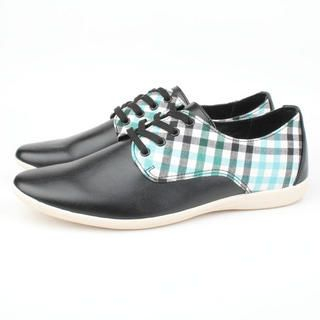 Picture of BSQT Checkered Print Sneakers 1023071160 (Sneakers, BSQT Shoes, Taiwan Shoes, Mens Shoes, Mens Sneakers)