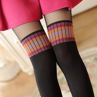 Two-Tone Tights 1061101254