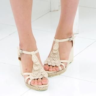 Buy Miss Hong Wedge Sandals 1022977445