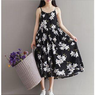Strappy Floral Midi Dress 1051607559
