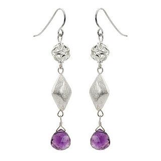 Amethyst   Earring   Silver