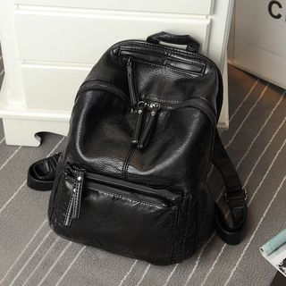 Image of Genuine Leather Backpack