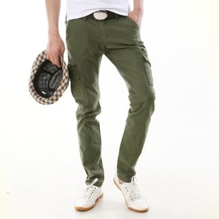 slim mens cargo pants - Pi Pants