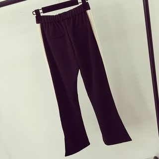 Color Block Wide Leg Sweatpants 1059525759
