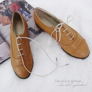 Buy Getme Faux Leather Oxfords 1022159026