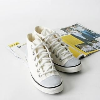 Picture of BoynMen Faux Suede Trim Sneakers 1021685906 (Sneakers, BoynMen Shoes, Korea Shoes, Mens Shoes, Mens Sneakers)