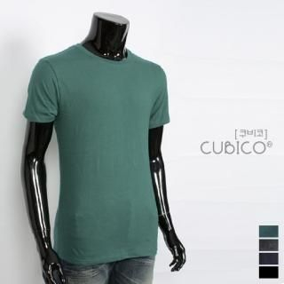 Picture of CUBICO Round-Neck Short-Sleeve T-Shirt 1022823044 (CUBICO, Mens Tees, South Korea)