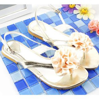 Buy KAWO Corsage Thong Sandals 1022760601