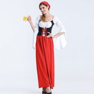 Beer Waitress Party Costume 1062153297