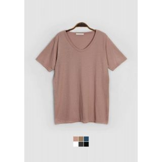 V-Neck Short-Sleeve T-Shirt 1061770560