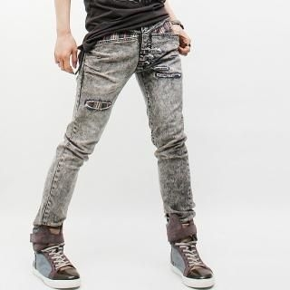 Buy Peeps Distressed Washed Jeans 1022796969