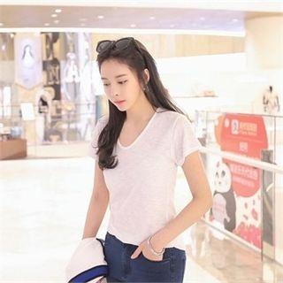 V-Neck Short-Sleeve T-Shirt 1060398389