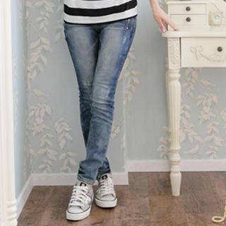 zip-pocket-washed-skinny-jeans