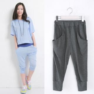 Picture of Celli Girl Elasticized Waist Baggy Pants 1022590746 (Womens Baggy Pants, Celli Girl Pants, South Korea Pants)
