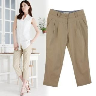 Picture of Stylewardrobe Cropped Pants 1022874770 (Stylewardrobe Apparel, Womens Pants, South Korea Apparel)